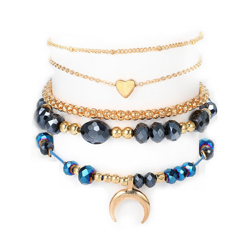 Rannekorusetti, FRENCH RIVIERA|Nightsky Gold Bracelets