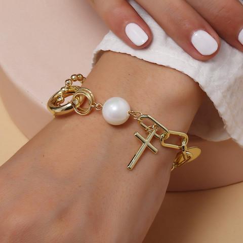 Rannekoru, FRENCH RIVIERA|Minimalistic Cross Bracelet