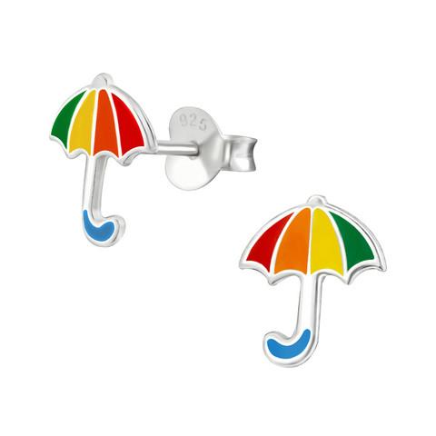 Hopeiset korvanapit, Pride Umbrella Earstuds -pride sateenvarjonapit