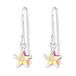 Lasten hopeakorvakorut, Pink Star -vaaleanpunainen tähti