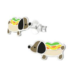 Lasten hopeanapit, Hot Dog -mäyräkoira