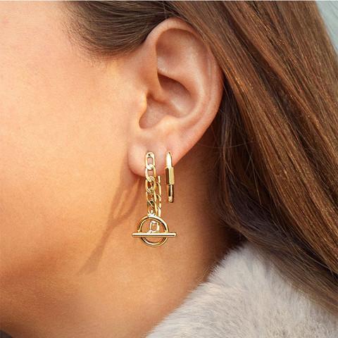 Korvakorut, PAPARAZZI|Trendy Chain Earrings