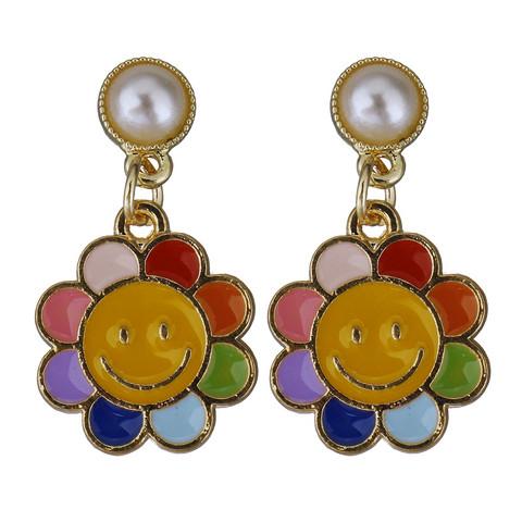 Korvakorut,  90's Smiley Flower -kukkakorvakorut