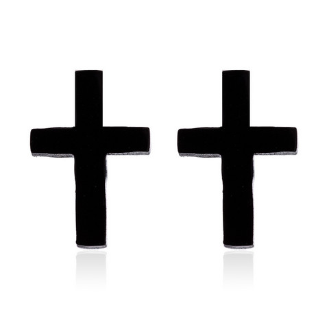 Kirurginteräsnapit, Black Cross -mustat ristinapit