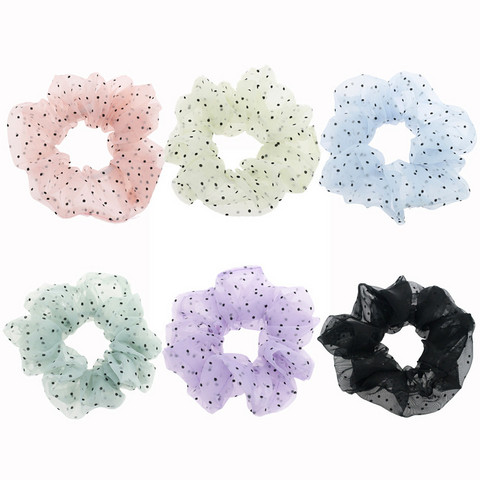 Donitsi/Scrunchie|SUGAR SUGAR, Medium Pastel Polkadot