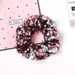 Donitsi/Scrunchie|SUGAR SUGAR, Sequins in Soft Purple