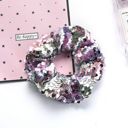 Donitsi/Scrunchie|SUGAR SUGAR, Sequins in Light Pink
