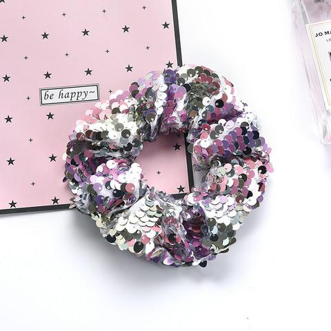 Donitsi/Scrunchie|SUGAR SUGAR, Sequins in Light Pink