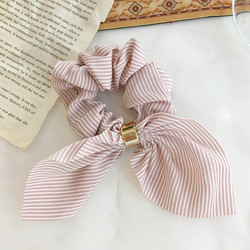Donitsi/Scrunchie|SUGAR SUGAR, Bowtie in Pink & White