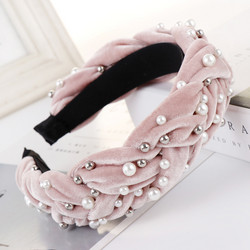 Hiuspanta|SUGAR SUGAR, Pink Statement Suede-hairband