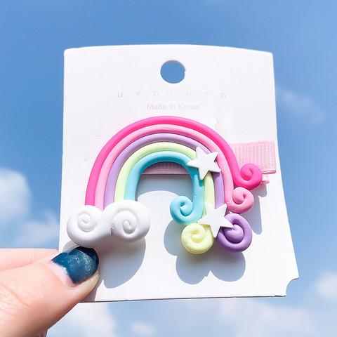 Hiuskoru/pinni, Rainbow in Pink -pinkki sateenkaaripinni