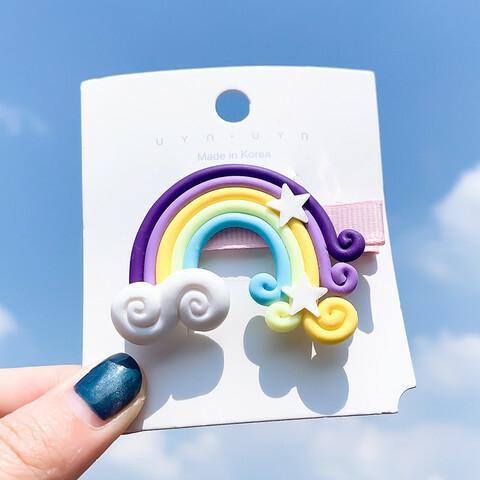 Hiuskoru/pinni, Rainbow in Purple -violetti sateenkaaripinni