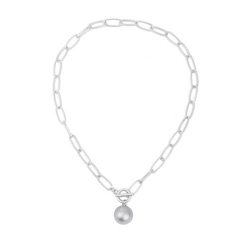 Kaulakoru, FRENCH RIVIERA|Classic Silver Necklace