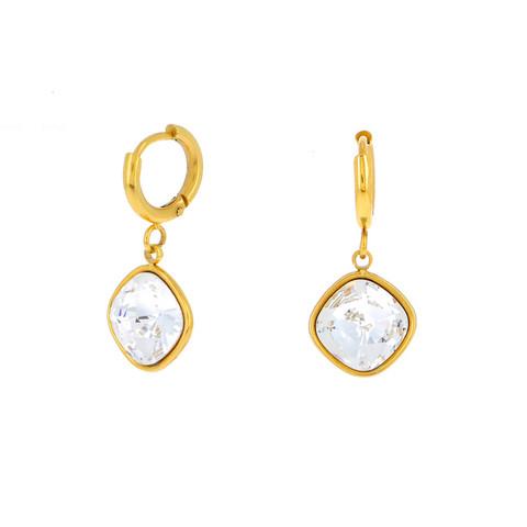 Korvakorut, BOHM PARIS|Boucles D'oreilles Léa avec cristal clair
