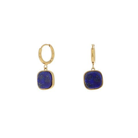 Korvakorut, BOHM PARIS|Boucles D'oreilles Gigi avec lapis lazuli