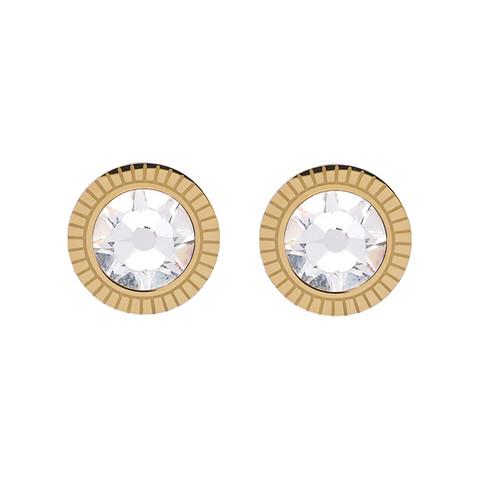 Korvakorut, BOHM PARIS|Boucles D'oreilles Miel avec cristal clair