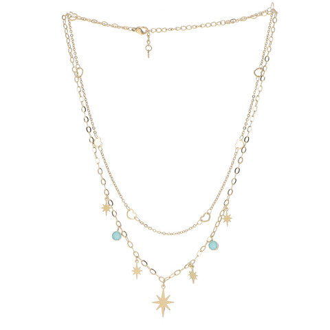 Kaulakoru, BOHM PARIS|Collier Giselle avec cristal mint
