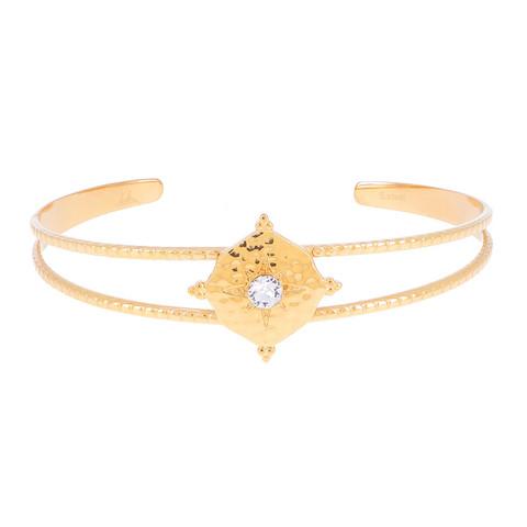 Rannekoru, BOHM PARIS|Bracelet Loulita avec cristal clair