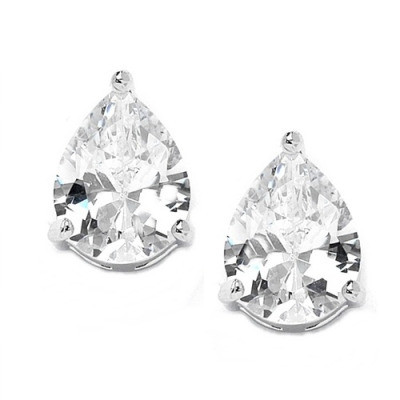 Kristallikorvakorut, ATHENA BRIDAL|Classic Teardrop Earrings