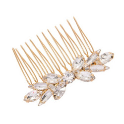 Hiuskoru, ATHENA BRIDAL|Beautiful Crystal Haircomb in Rosegold
