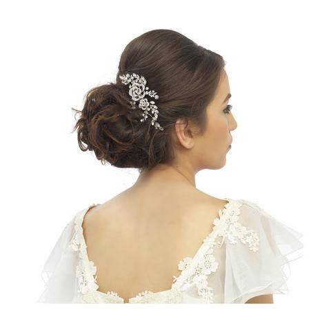 Hiuskoru, ATHENA BRIDAL Romantic Flowers and Leafs Haircomb