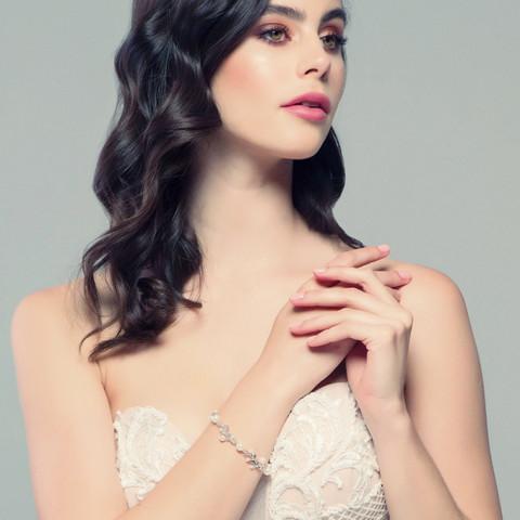 Rannekoru, ATHENA BRIDAL Delicate Pearl Bracelet