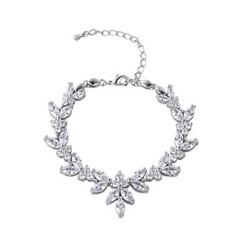 Rannekoru, ATHENA BRIDAL|Elegant Cubic Zirconia Bracelet