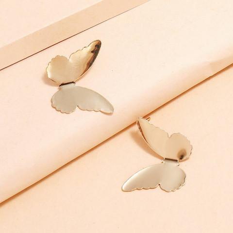 Korvakorut, FRENCH RIVIERA|Gold Butterflies -perhoskorvakorut