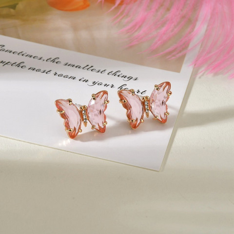 Korvakorut, FRENCH RIVIERA|Rose Butterflies -perhoskorvakorut