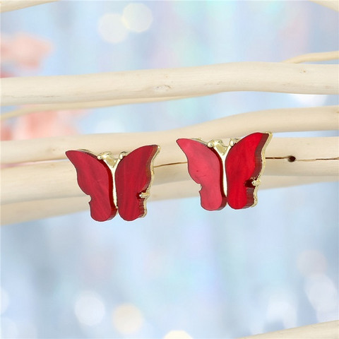Korvakorut, FRENCH RIVIERA|Red Butterflies -perhoskorvakorut