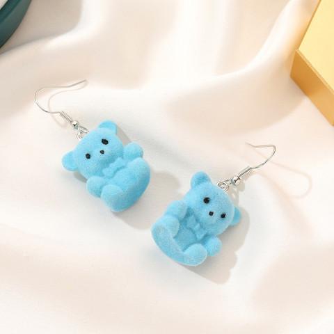 Korvakorut, Blue Teddy Bear -siniset nallekorvakorut