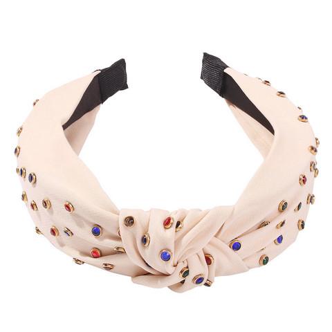 Hiuspanta|SUGAR SUGAR, Beige Knot Hairband -beige solmupanta