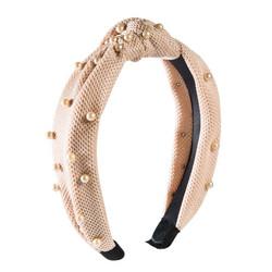 Hiuspanta|SUGAR SUGAR, Powder Knot Hairband -solmupanta helmillä