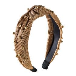 Hiuspanta|SUGAR SUGAR, Latte Knot Hairband -solmupanta helmillä