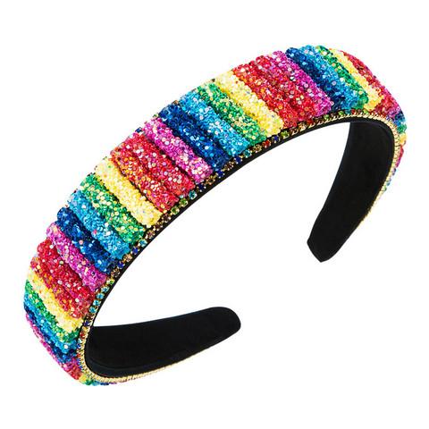 Hiuspanta|SUGAR SUGAR, Pride Glitter Hairband -sateenkaari hiuspanta