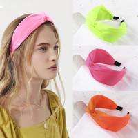 Hiuspanta|SUGAR SUGAR, Neon Twist Hairband - neonvärinen panta