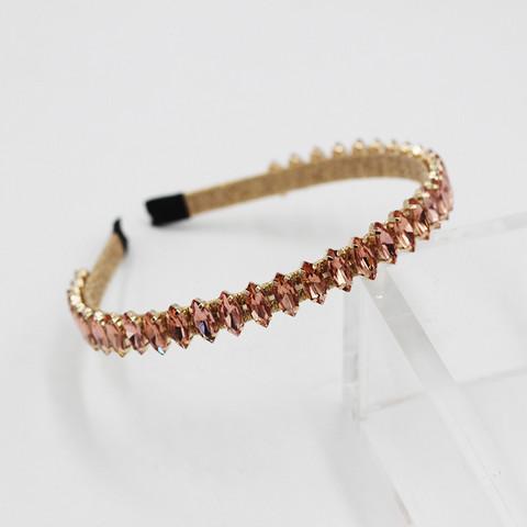 Hiuspanta|SUGAR SUGAR, Chic Sparkly Hairband in Pink