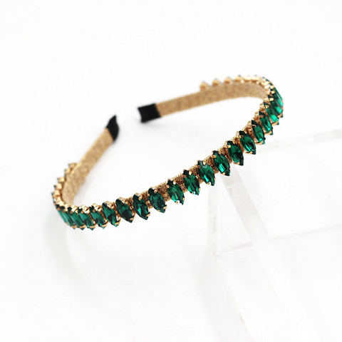 Hiuspanta|SUGAR SUGAR, Chic Sparkly Hairband in Emerald Green