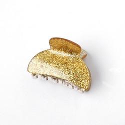 Hiussolki, hainhammas|SUGAR SUGAR, Small Gold Glitter Hairclip