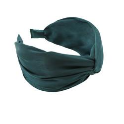 Hiuspanta|SUGAR SUGAR, Wide Knot Hairband in Teal