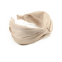 Hiuspanta|SUGAR SUGAR, Wide Knot Hairband in Beige