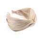 Hiuspanta SUGAR SUGAR, Wide Knot Hairband in Beige