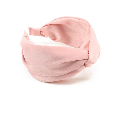 Hiuspanta|SUGAR SUGAR, Wide Knot Hairband in Pink