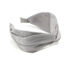 Hiuspanta|SUGAR SUGAR, Wide Knot Hairband in Grey