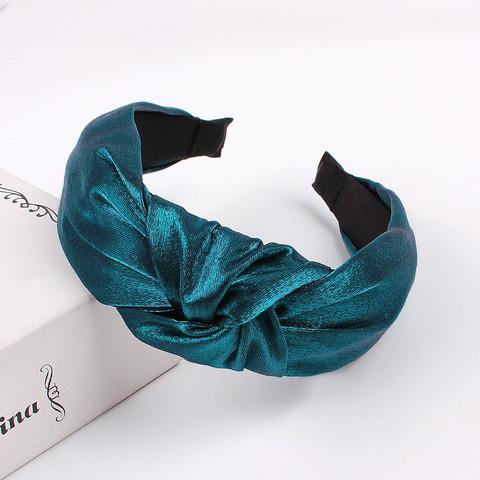Hiuspanta|SUGAR SUGAR, Classic Knot Hairband -petroolinsininen panta