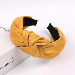 Hiuspanta|SUGAR SUGAR, Classic Knot Hairband -leijonankeltainen panta