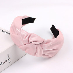 Hiuspanta|SUGAR SUGAR, Classic Knot Hairband -vaaleanpunainen panta