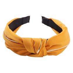 Hiuspanta|SUGAR SUGAR, Gold Details Hairband -leijonankeltainen panta