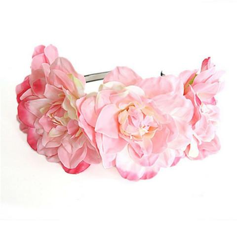 Kukkapanta SUGAR SUGAR, Summer Dreams in Pink -pinkki kukkakruunu