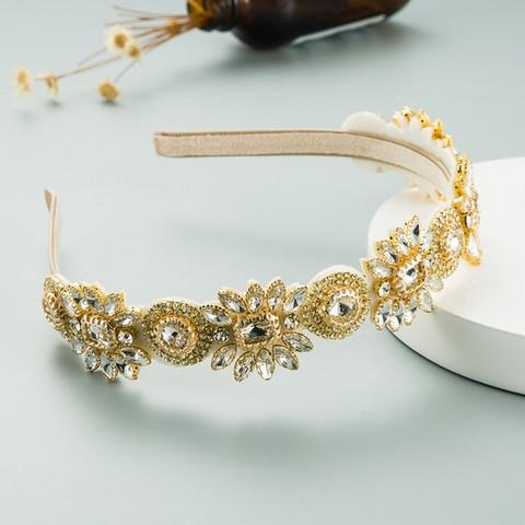Hiuspanta|SUGAR SUGAR, Great Gatsby Hairband in Gold -kimaltava panta